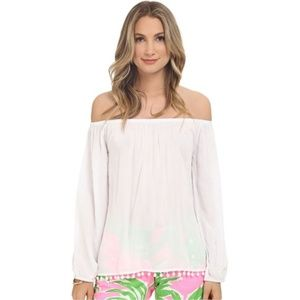 Lilly Pulitzer Enna Off The Shoulder Top